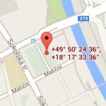 Ostrava-mapa
