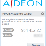 Vzdálená pomoc Adeon