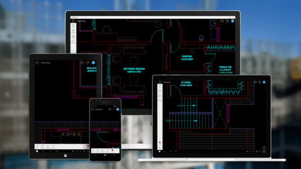 AutoCAD 360 mobility
