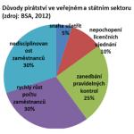 zdroj: BSA průzkum, 2012