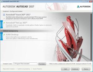 AutoCAD Instalace-2