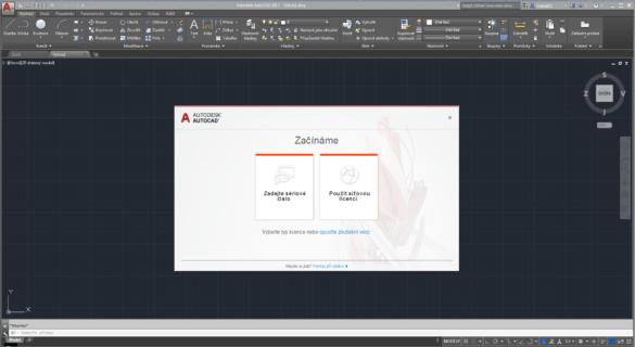 AutoCAD Instalace TrialVerze