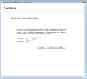 AutoCAD-trvala-licence-aktivace