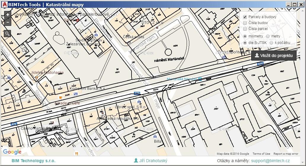 Autocad Import Katastralnich Map