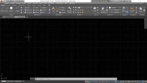 AutoCAD 2017 screen